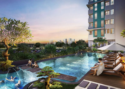 Serpong Garden Apartment Tower Diamanta 2