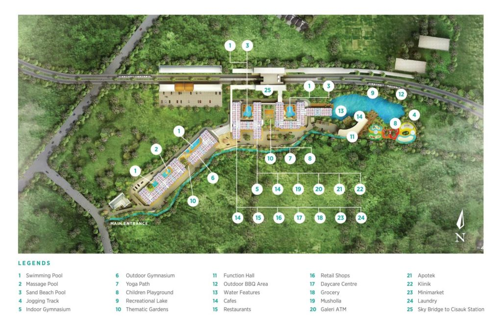 Groundbreaking Serpong Garden Apartment