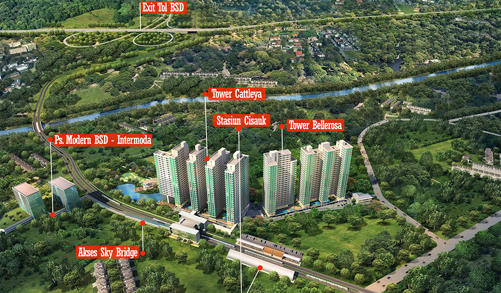 Groundbreaking Serpong Garden Apartment Dimulai 28 Januari 2018